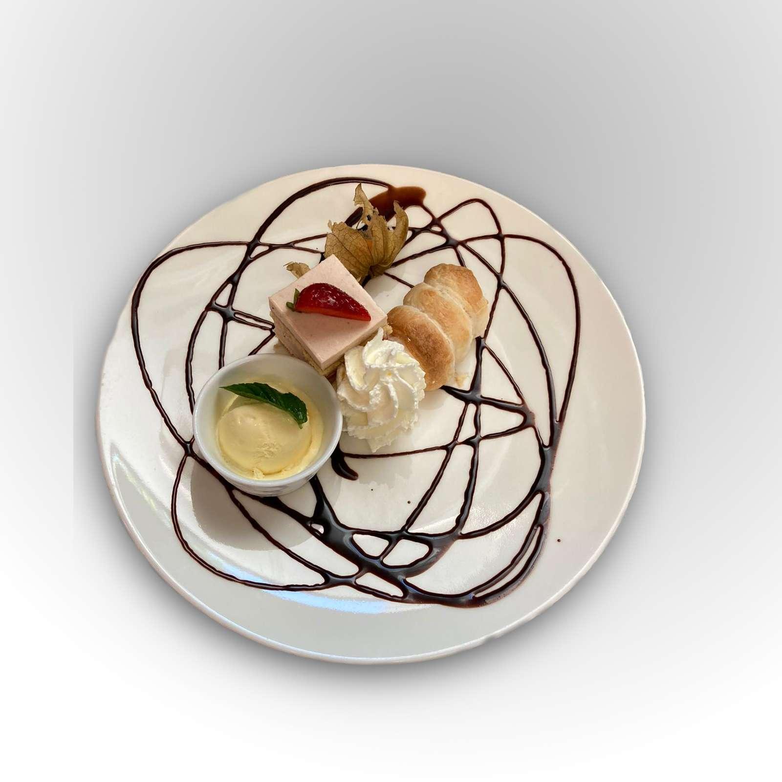 Dessert Variation Bild